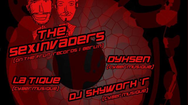 """Flyer """"House Styles"""" by Cybermusique Netlabel"""