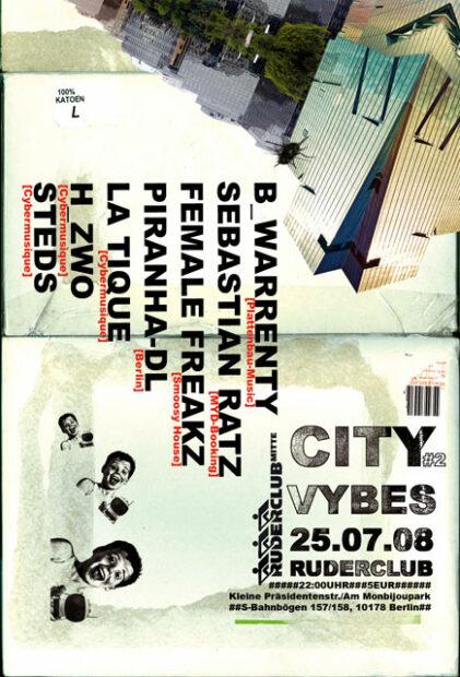 City Vybes im Ruderclub Berlin