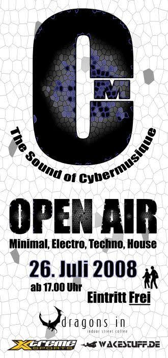 The Sound of Cybermusique Open Air